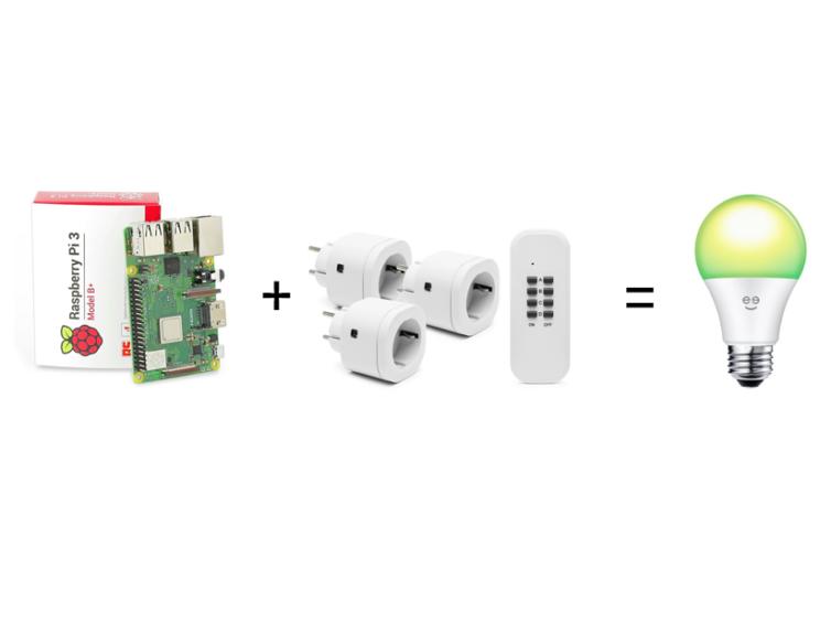 Guide: Styr fjärrströmbrytare med Raspberry Pi